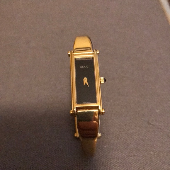 fd81ffb3f21 Gucci Accessories - Authentic gold plated Gucci 1500 watch